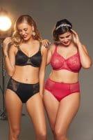 ROSA FAIA - Abby Bügel BH mit Molding  5217 - schwarz und rot