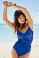 Anita - Badeanzug Tilda - ocean blue