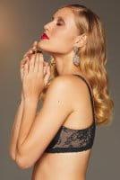 ROSA FAIA - Abby Bügel BH mit Molding  5217 - schwarz