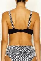 Lidea - Bikini-Oberteil Black Bites - schwarz-weiß