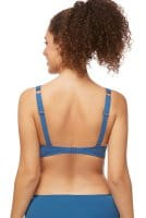 Amoena Prothesen-Bikini-Oberteil ZenGarden mit Bügel 71447 in Twilight blue in der Rückenansicht