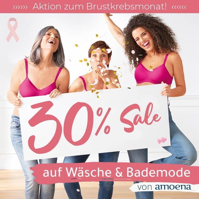 30% Amoena-SALE zum Brustkrebsmonat